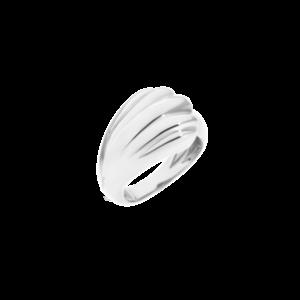 anello conchiglia argento queriot