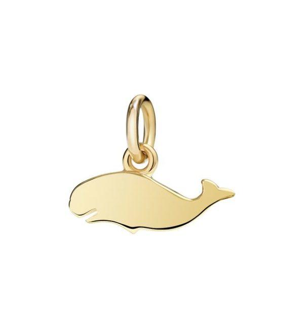 balena.un amore grandissimo.piccolo.oro giallo