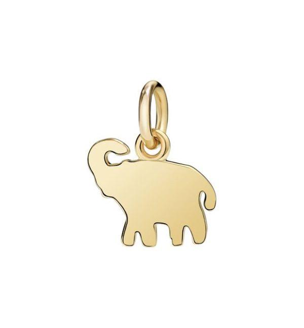 elefante.non dimenticarmi.piccolo.oro giallo