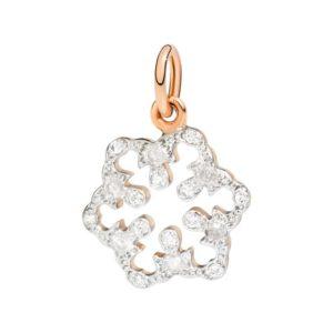 fioccodineve.sei unico.oro rosa.diamanti bianchi.diamanti icy