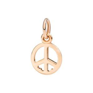 simbolo della pace.un sogno di pace e amore.oro rosa