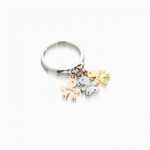 i classici.anelli.componibile.oro bianco